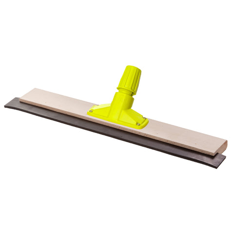 "Pack of 12 x 24"" Rapid Lock Wooden Squeegee"