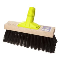"12"" SYNTHETIC YARD BROOM (6 PACK)"