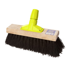 "Pack 6 x 12"" Bassine Yard Broom with Rapid Lock"
