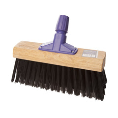 "24"" SYNTHETIC STIFF BROOM (6 PACK)"