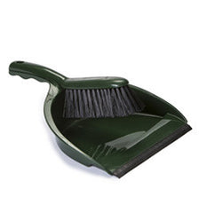 DUSTPAN & BRUSH SET (GREEN) 24 PACK