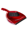 Pack of 24 x Dustpan & Brush Set (Red)