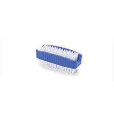 Pack of 12 x Plastic Nail Brush (Sythetic Filling)