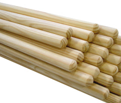 BROOM HANDLE 1400mm x 28.3mm (12 PACK)