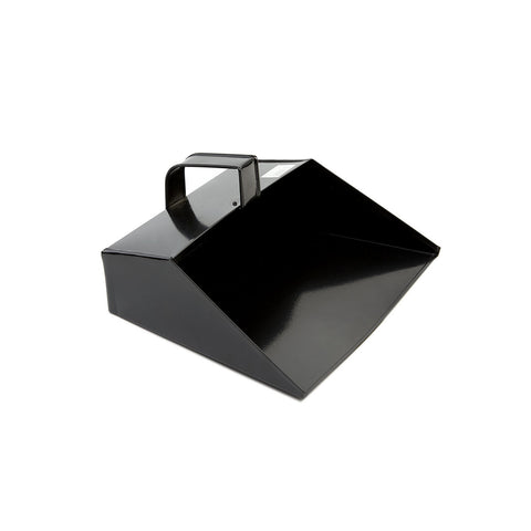 "11"" BLACK METAL DUSTPAN (12 PACK)"