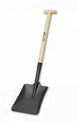 "6 x 11"" Long handled metal shovel"