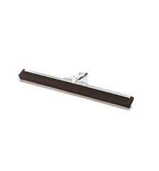 "10 x 22"" Metal Floor Squeegee, Foam Blade, Chrome Plated Frame"