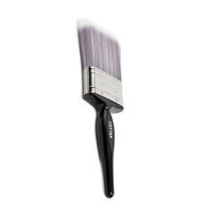 "DISPOSABLE 1.5"" BLACK BRISTLE PAINT BRUSH (12 PACK)"