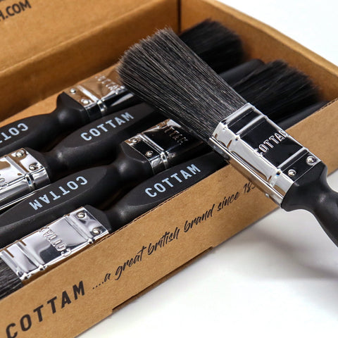 Box of 10 x Professional Coating Brush 1""