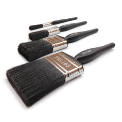Pack of 24 x Angled Industrial Detail Brush (6.5mm)
