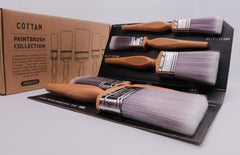 "NEW Professional Paint Brush Set 2 x 1"", 2 x 2"", 1 x 3"""