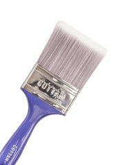 "Pack of 12 Disposable 0.5"" White Britle Paint Brush"