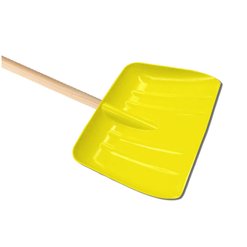 Pack of 6 x Yellow Snow Shovel (Head Only)