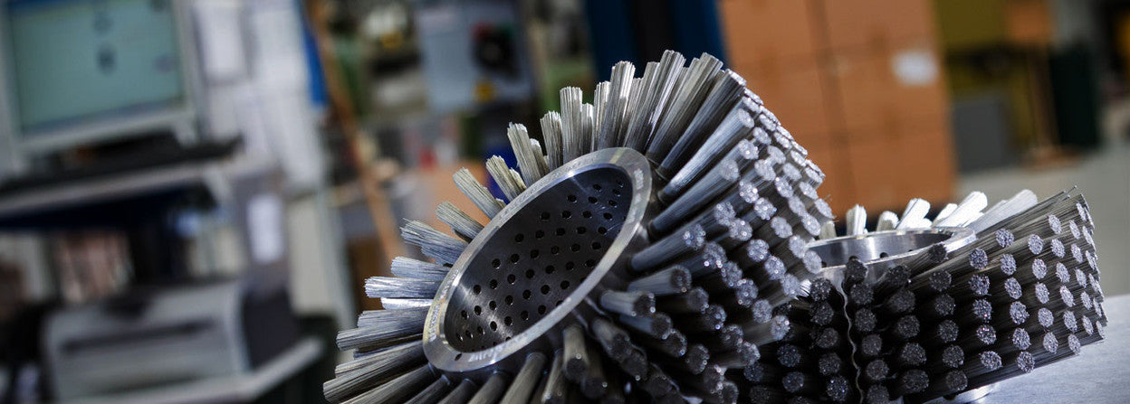 We design and manufacture world class brushes for industry.