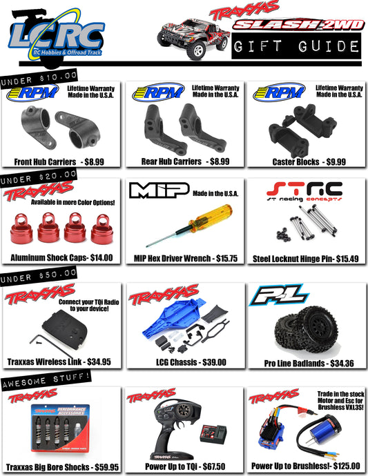 LCRC Raceway's Buyers Guide for the Traxxas Slash: 2019 Gift Guide!