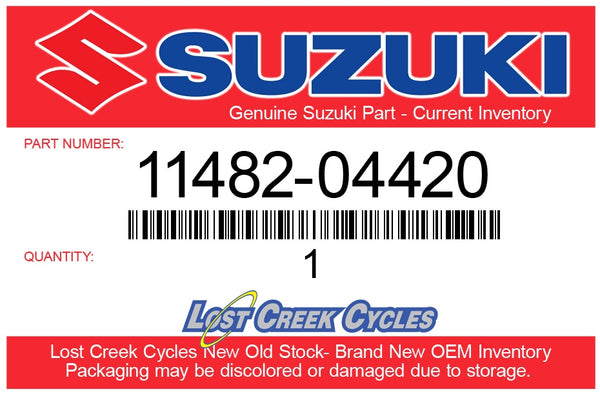 Suzuki 11482-04420 GASKET, CLUTCH COVER (Superseeded: 11482-04410)