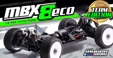 Mugen Seiki MBX8 E2026 ECO Team Edition 1/8 Off-Road Electric Buggy Kit