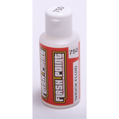 Flash Point Silicone Shock Oil (75ml) (750cst)