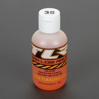 Team Losi Racing TLR74024 Silicone Shock Oil (35wt) (4oz)..