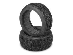 JConcepts 3122-01 Detox 1/8 Buggy Tires (2) (Blue)