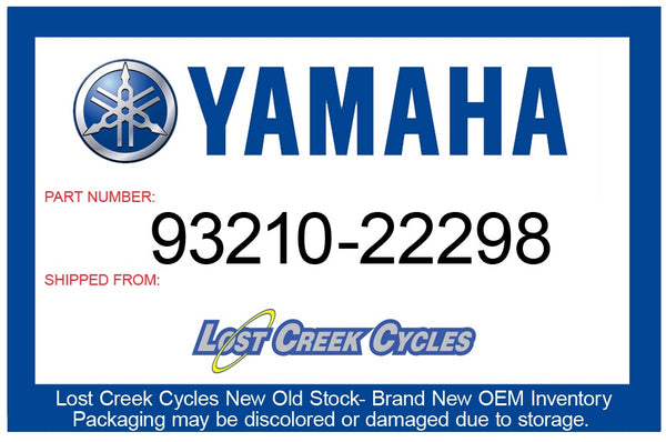 Yamaha O-Ring 93210-22298-00