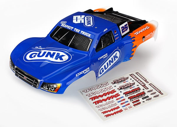 6889 - Body, Slash 4X4/Slash, Arie Luyendyk Jr. (painted, decals applied)