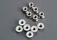 Traxxas 2744 Nuts, 3mm flanged (12) 0.03
