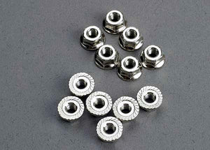 Traxxas 2744 Nuts, 3mm Flanged (12)