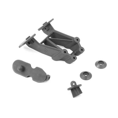 Tekno TKR9181T Tall Wing Mount (w/ buggy body mounts, 2.0)