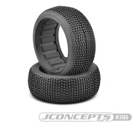 JConcepts 3186-01 Kosmos 1/8 Buggy Tire (2) (Blue)