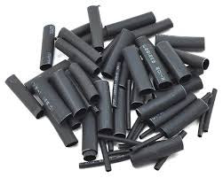 "ProTek RC PTK5453 1.5, 5, 6 & 8mm Shrink Tubing Assortment Pack (Black) (20) (1"" Length)"