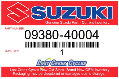 Suzuki 09380-40004 SNAP RING 09380-40004