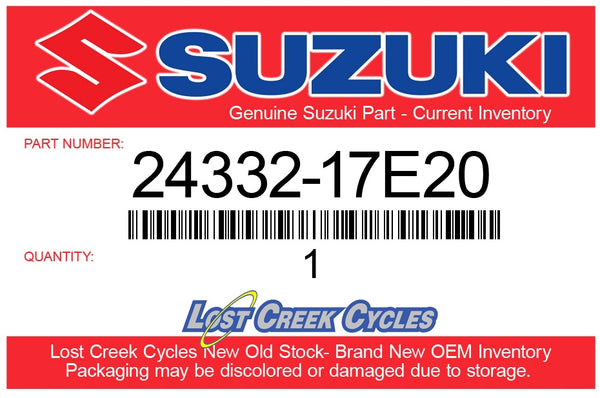 Suzuki 24332-17E20 3RD Driven Gear Bushing LTR450