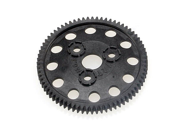 Traxxas 4472R Spur gear, 72-tooth (0.8 metric pitch, compatible with 32-pitch) 0.03