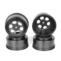 "DE Racing DER-TS4-A4B 12mm Hex ""Trinidad"" Short Course Wheels (Black) (4) (SC5M)"