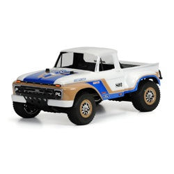 Pro-Line 3408-00 1966 Ford F-100 Clear Body: Slash, Slash 4x4