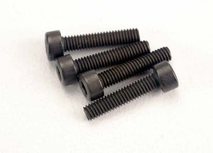 Traxxas 3236 Screws, 2.5x12mm cap-head machine (6) 0.015