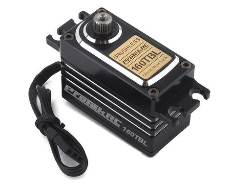 "ProTek RC 160TBL ""Black Label"" Low Profile High Torque Brushless Servo (High Voltage/Metal Case)"