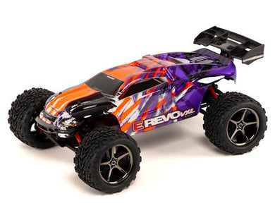 Traxxas 71076-3-BLUEX E-Revo VXL: 1/16-Scale 4WD Racing Monster Truck with TQi Traxxas Link