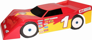 RJ Speed 1015 Max Wedge Body 1/8 Scale