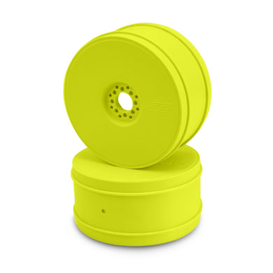 JConcepts 83mm Bullet 1/8th Buggy Wheel (Yellow) (4)