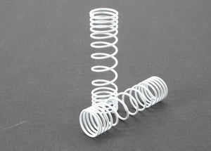 Traxxas 5858 Rear Shock Spring Set (White) (2)