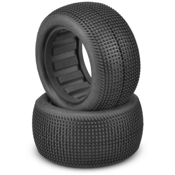 "Jconcepts 3133-02 Sprinter 2.2 - green compound (fits 2.2"" 1/10th buggy rear wheel)"