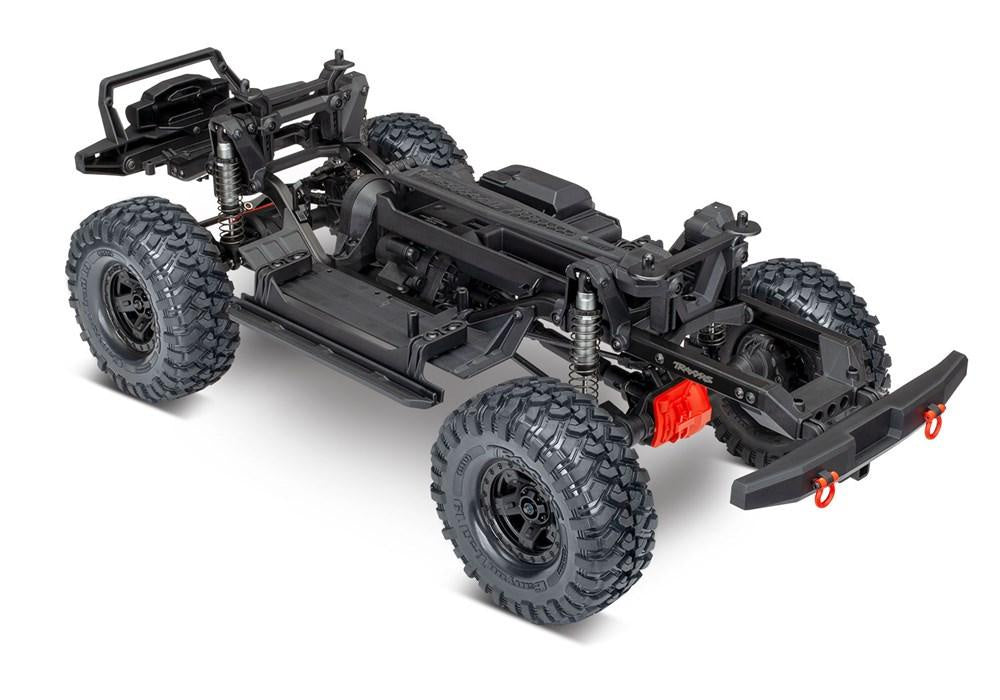Traxxas 82010-4 - TRX-4® Sport Unassembled Kit: 4WD Electric Truck with  clear body, expedition rack, and accessories