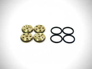 Imbue 16mm 6-Hole Brass Piston Set