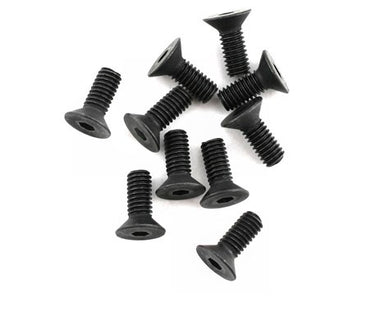 Mugen B0747 4x10mm SJG Flat Head Screw (10)