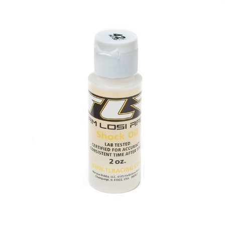 Losi TLR74011 Silicone Shock Oil, 42.5 weight, 2oz