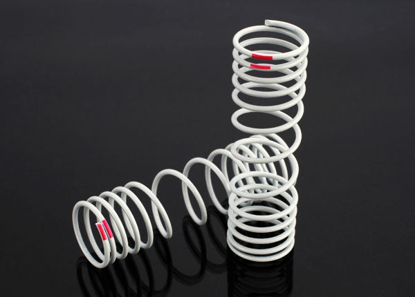 Traxxas 6867 Springs, rear (progressive, +10% rate, pink) (2) 0.045
