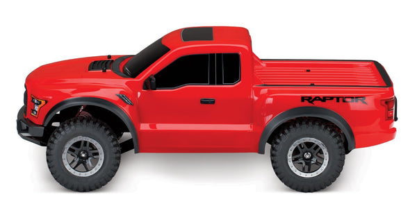 Traxxas 58094-1-RED Ford F-150 Raptor: 1/10-Scale Ford F-150 Raptor with TQ 2.4GHz radio system 8.99
