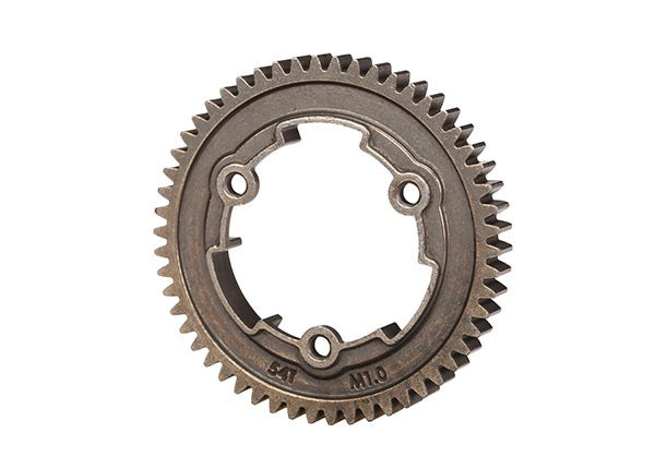 Traxxas 6449X - Spur gear, 54-tooth, steel (1.0 metric pitch)